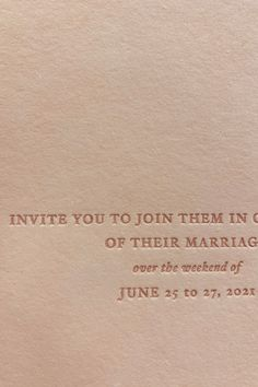 We use a blush handmade paper and tonal letterpress ink colour for these invitations. The elegant type of regular and italic really complimented the style for R&M's wedding stationery. Cannot wait to reveal the whole suite for this wedding set to take place in France! Calligraphy Wedding Place Cards, Calligraphy Envelope, Letterpress Printing, Wedding Cards, Bespoke Wedding Invitations, Wedding Invitation Design, Wedding Stationery, Vow Booklet, Wedding Sets