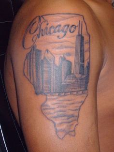 Chicago Skyline Tattoo Designs Wallpapers - http://wallpaperzoo.com/chicago-skyline-tattoo-designs-wallpapers-30494.html