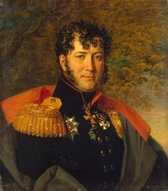 Fyodor G. Gogel (1775-1827) (1828, Musée de l'Ermitage, Saint Pétersbourg) de George Dawe (1781-1829)