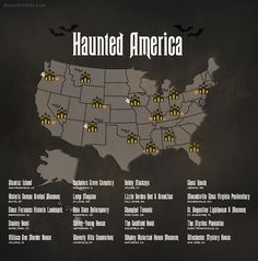 There are plenty of haunted places in America. In fact, at Roadtrippers, we're kind of experts on that sort of thing. So with Halloween just days away, we made you a terrifying, spine-tingling, scare-fueled guide to the top 20 most haunted places that you can actually visit on Halloween. If you're looking for some real pants-crapping scares this season, look no further than Haunted America!