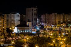 Romania, Christmas Tree, City, Holiday Decor, Home Decor, Teal Christmas Tree, Decoration Home, Room Decor, Xmas Trees