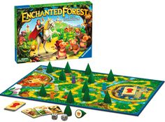 Ravensburger - Game Enchanted Forest  #entropywishlist #pintowin - oh I want to play this one!! With a house full of girls I'm enjoying jumping into all those great girls themes.  We would love this please. -