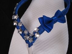 So Sweet Bride Rose Tardis Blue Bow and Stars by DreamingBabies, $24.00