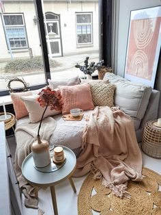 Home Board, Boho Room, Couch, Living Room Decor, New Homes, Indoor, Table, Furniture, Bohemian Living