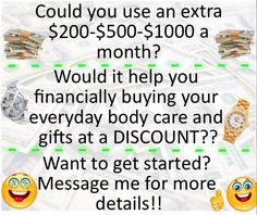 The holidays are over, and you need some extra $$ to finish paying off those Christmas bills. For only $15 you can get started right away earning. You can sign up online yourself by just going to startavon.com Reference Code: lindabacho #avonrep