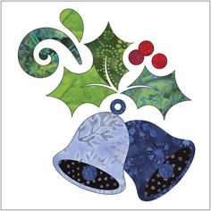 (7) Name: 'Quilting : Applique Add On's - Deck The Halls #1