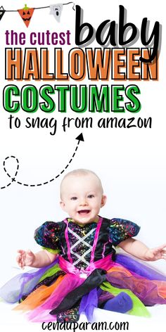 Looking for an EPIC baby Halloween costume? Check out these seriously cute baby Halloween costumes you can snag from amazon (perfect if you're a last minute person like me). Whether you need baby girl Halloween costumes or Halloween costumes for a baby boy, I've got you covered. These costumes are also perfect to create family Halloween costumes too! #Halloween #babycostume Cute Baby Halloween Costumes, Baby First Halloween, Girl Halloween, Baby Costumes, Baby Pikachu Costume, Baby Tiger Costume, Little Babies, Cute Babies, Monster Inc Costumes