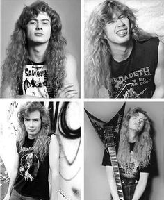 Dave Mustaine Megadeth..........
