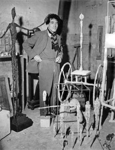 The Giacometti Foundation is opening a public space that features a permanent recreation of Alberto Giacometti's studio, a study center, and exhibitions. Alberto Giacometti, Giovanni Giacometti, Sabine Weiss, Grand Prix, Matisse Drawing, Plaster Sculpture, Los Angeles Museum, Gordon Parks, Brothers In Arms