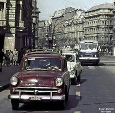 Old Photos, Vintage Photos, Hungary, Transportation, History, Retro, Vehicles, Cars, Budapest Hungary