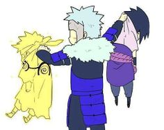 Tobirama is just about sick of Naruto & Sasuke. just about done.