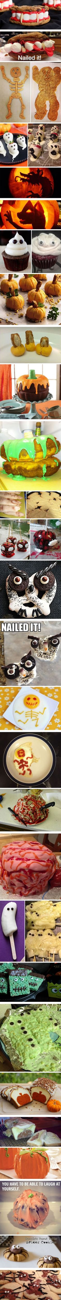 Halloween Recipe Fails...