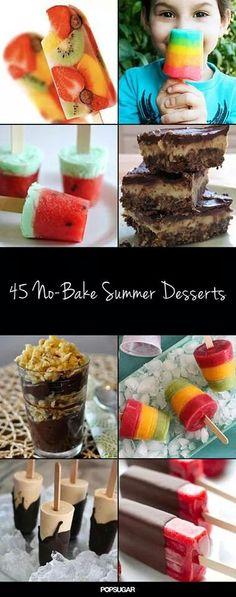 No bake summer