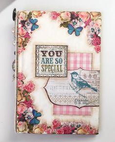 Junk Journal Mixed Media Kit Art Journal Kit Cover, Art Diary Kit, Journal Starter Kit, Vintage Book Journal kit Journal Kit scrapbooking by ArtShopGifts on Etsy