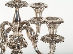 Large Five-Flame 835 Silver Candle Holder, Germany, around 1920 | Auctionata.