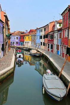 199 Burano (Venice) Italy. I've been here. It's amazing and the lace is to die for.