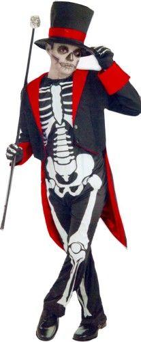 Kid's Skeleton Costume [67099 - 67101] Dashing!!