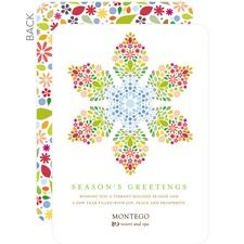 All Season Snowflake Business Holiday Cards