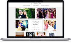 super helpful wedding website: carats & cake