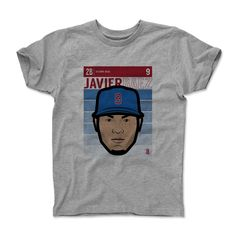 Javier Baez Fade B Chicago MLBPA Officially Licensed Toddler and Youth T-Shirts 2-14 years