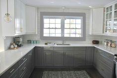 kitchen - photoshopped grey trim