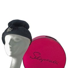 Rare Vintage Elsa Schiaparelli Couture Hat with by CrazyGoodFinds, $149.00
