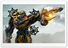 Transformers 4 Bumblebee HD Wide Wallpaper for Widescreen