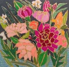 Image of 24x24 Flowers for Ramona ; Lulie Wallace