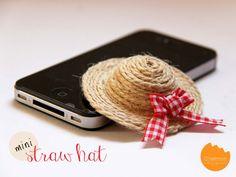 Make a Miniature Straw Hat