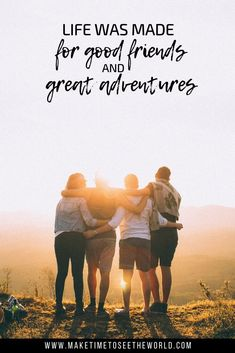 65 Adventure Quotes to Inspire You To Explore Our Amazing World! is part of Travel quotes adventure - In need of a little pick me up Or just want to get in the mood for your next epic trip This list of 65 Amazing Adventure Quotes can help you out! Travel With Friends Quotes, Best Travel Quotes, Quote Travel, Friend Travel, Travelling With Friends, Quote Friends, Traveling, Road Trip Adventure, Life Is An Adventure