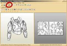 Image result for pepakura deathstroke helmet