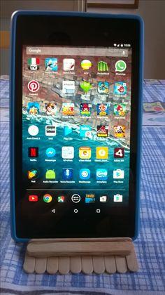 Porta tablet - appoggio in verticale
