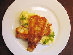 Cod on fennel & potato purée