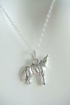 Twilight  HOWLING WOLF  Jacob Black  Sterling Silver by charms4you, $18.00