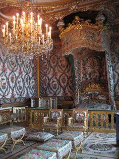 The bedroom of Marie Antoinette                                                                                                                                                                                 More
