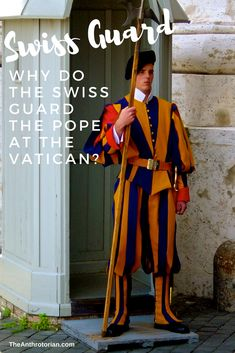 The Vatican Swiss Guard World Religions, World Cultures, Unique Jobs, Swiss Guard, Solo Travel Tips, Latest Discoveries, Vatican City, Local History, Vatican
