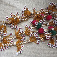 Afganistan-Kuchi-aşiret-boncuklu-saç püsküller