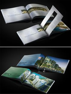 Architecture Portfolio Discover A Collection of Effective Real Estate Brochure Designs and Layouts Portfolio Design Layouts, Brochure Design Inspiration, Book Design Layout, Design Poster, Design Design, Luxury Brochure, Corporate Brochure Design, Creative Brochure, Brochure Layout