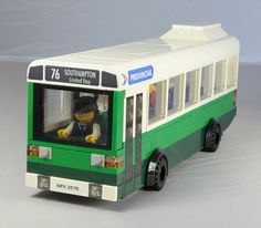 Lego Leyland National Bus Front