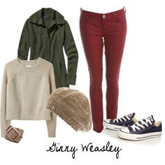 Ginny Weasley outfits - could I pull this off @Jessica Hudson-Weight?