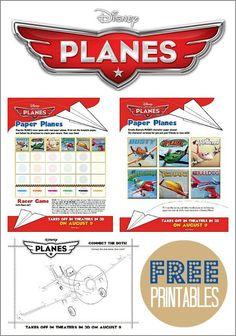 Disney Planes: Free Printables