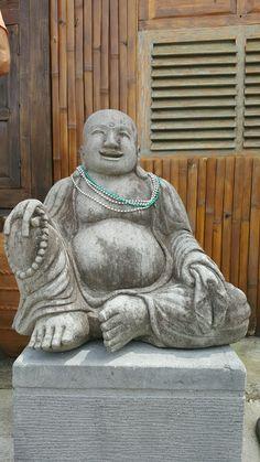 Sitting Stone Buddha   #home #garden #buddha #zen #garden #bali #decor