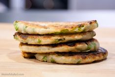 I keep thinking I should learn to make these but a package of 8 is only 1.50 at my local Asian grocery store! (green onion pancakes)