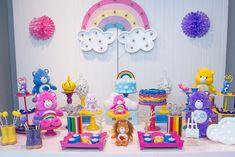Feliz, Campeão, Ternura e Ursinha dos Desejos foram alguns dos convidados VIPs do aniversário com tema Ursinhos Carinhosos com peças da Pop Mobile