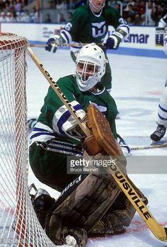 Bruce Bennett, Hartford Whalers, Goalie Mask, Good Old Times, Hockey Games, Nhl, Masks, Marvel, Lovers