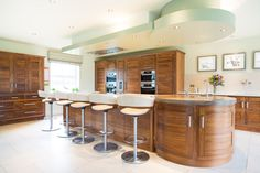 A stunning bespoke kitchen