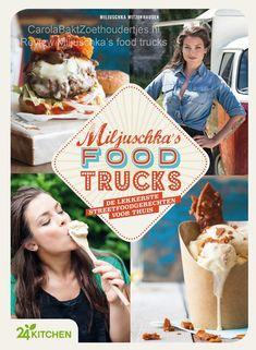Miljuschka's Food Trucks (Food Love and Happiness) Food Trucks, Food Challenge, A Food, Cheesecake, Cooking Recipes, Bread, Baking, Breakfast, Tv Series