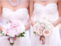 Love the beading detail n I love the tones in the bouquet