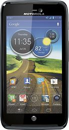 Motorola - Atrix HD 4G Mobile Phone - Titanium (AT)