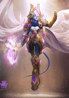 Wow Draenei, Draenei Female, Dnd Tiefling, World Of Warcraft 3, Warcraft Art, World Of Warcraft Paladin, Warcraft Legion, Warcraft Characters, Character Art